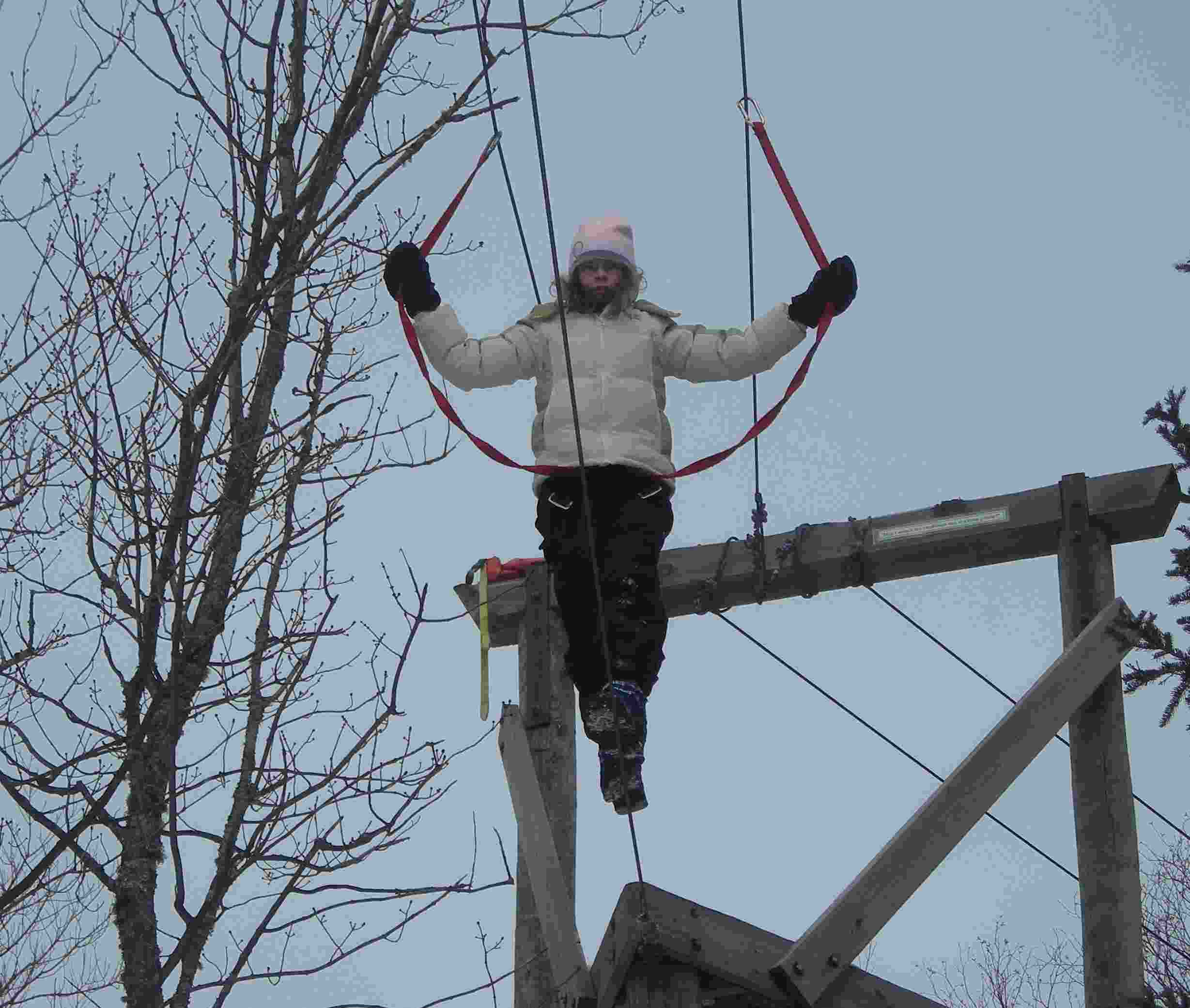Annette on the High Wire