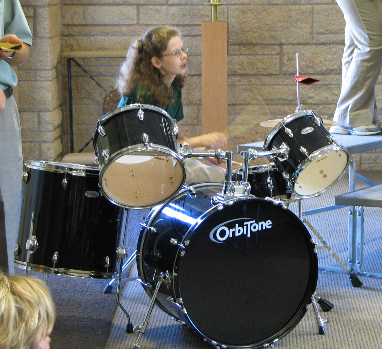 Annette Plays the Drums